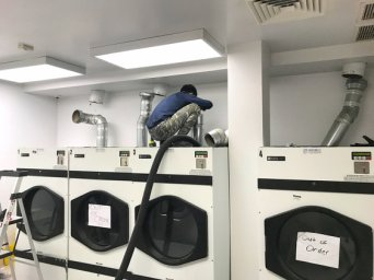 DRYER VENT CLEANING               &          INSTALLATION